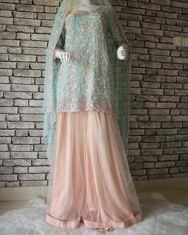 Pakistani Gharara For Wedding in USA