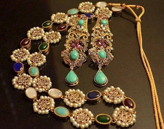 Pakistani Kundan Jewelry for Asian Indian Weddings In USA Online