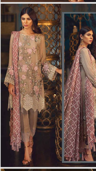 Pakistani Kurta Shirt Trouser Party Dress for Women Online at Nameera by Farooq