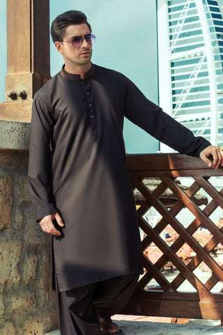 Pakistani Men Designer Eid Dresses 2019 at NameerabyFarooq