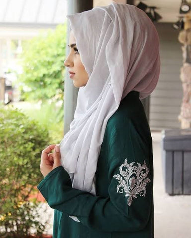 Pakistani Milad Dresses with Hijab Online at NameeerabyFarooq in USA