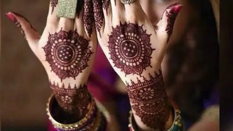 Pakistani Wedding Mehendi Hina Designs Online