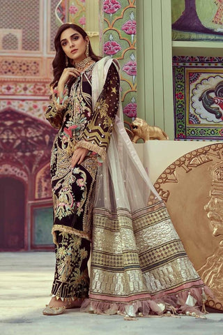 Pakistani Wedding Walima Dress for Bride in America