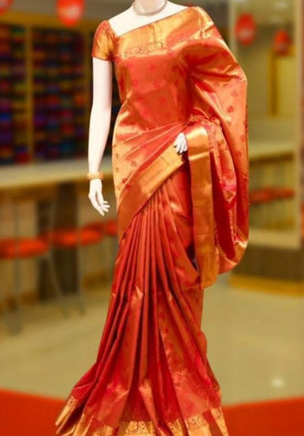 South Indian Style Bridal Dress Online in Pennsylvania at NameerabyFarooq