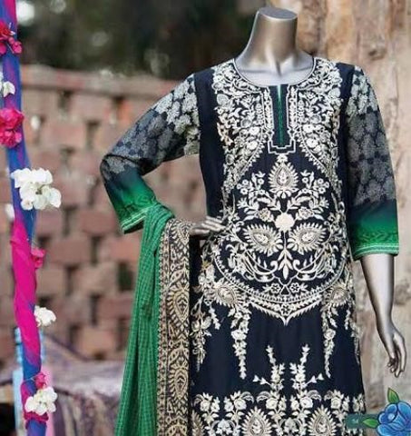 Stiched Lawn Suits for Pakistani Women