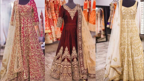 Trendy Punjabi Wedding Bridal Dresses 2019 Online in USA at NameerabyFarooq