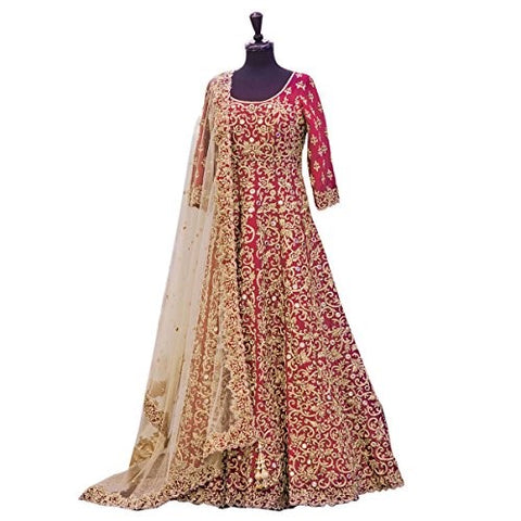 Wedding Dress Ideas Anarkali Style Frock