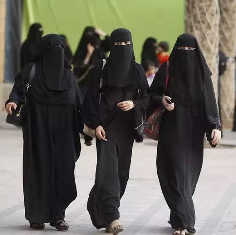 Women Wearing Burka Abaya In Street - How culture influences dressing of people at NameerabyFarooq