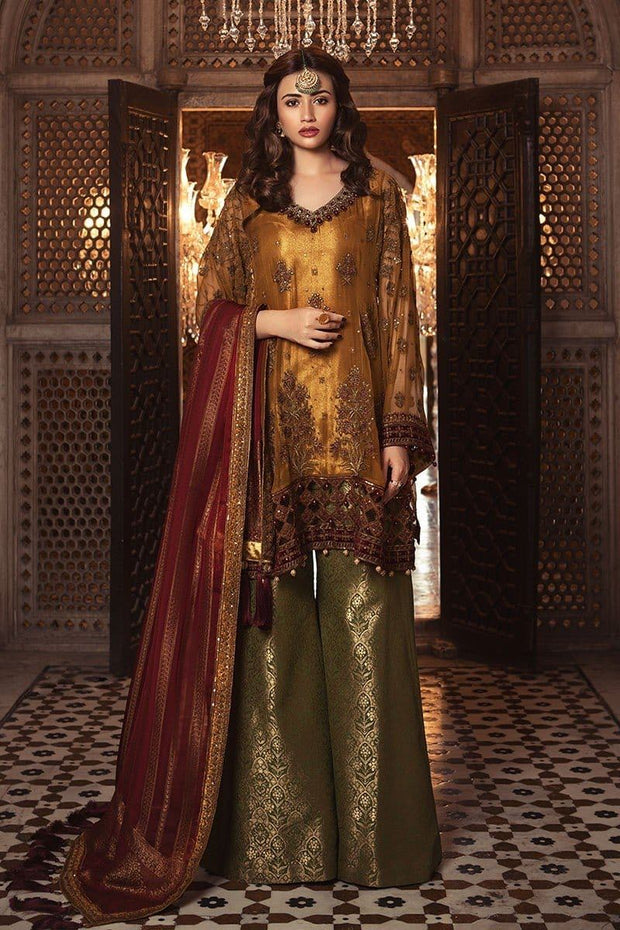 Kurta With Sharara by Maria B Model# C 1613