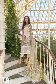 Mint Green Lawn Dress By Sobia Nazir.Work Embellished With Dhaga Embroidery Sequance & Patches Work.