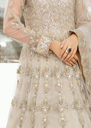 Latest Beautiful Beige Wedding Party Long Maxi  # CA127