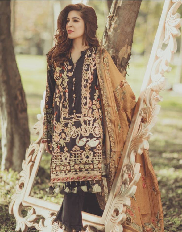 Lawn dress by rang rasiya Model # L 1164
