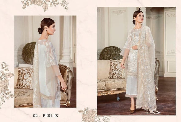 Stylish Designer Dress In Light Gray Color.Work Embellished With Tilla Embroidery,Sequance And Hand Work.