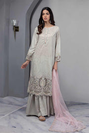 Floral Embroided Gharara Suit In Two Different Colors.Work Emballished With Dhaga Embroidery And Heavy Cutwork.