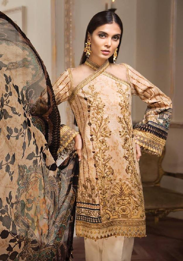 Stylish Summer Dress by Anaya.Work Embellished With Pure Threads Embroidery.