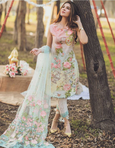 Lawn Dress by Rang Rasiya Model # L 1165