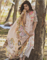 Lawn dress by rang rasiya Model # L 1171