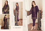 Kurta And Capri in Beutiful Dark Purple Color. Work Embellished With Dhaga Embroidery And Tilla Work Patches.