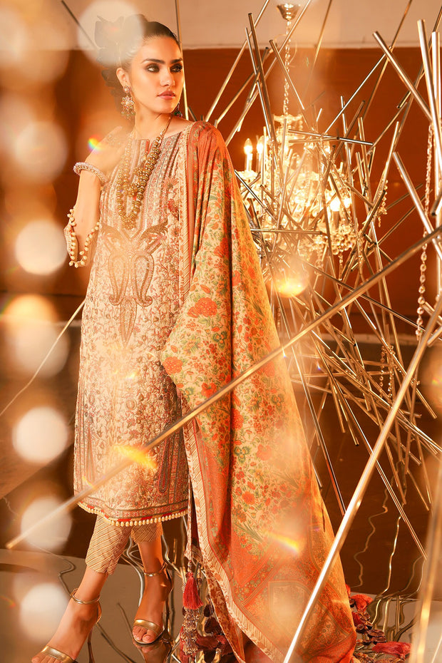 Alkaram Eid Lawn Outfit Latest Collection Overall View