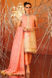 Alkaram Eid Wear in Peach Color