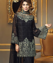 Anaya Black  Designer  Dress   Model # C 573