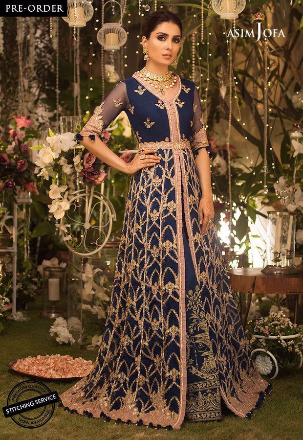 Asim Jofa Chiffon Suit for Eid