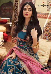 Asim Jofa Latest Chiffon Collection Close Up