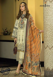 Asim Jofa Eid Wear in Ivory Color