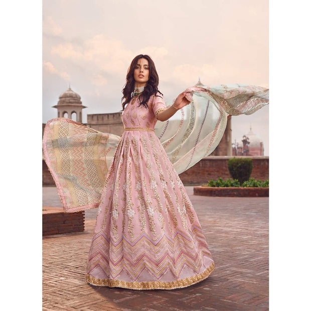 Aesthetic Pakistani formal dress online