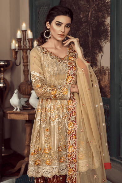 Beautiful and Simple Barat Dress for Women