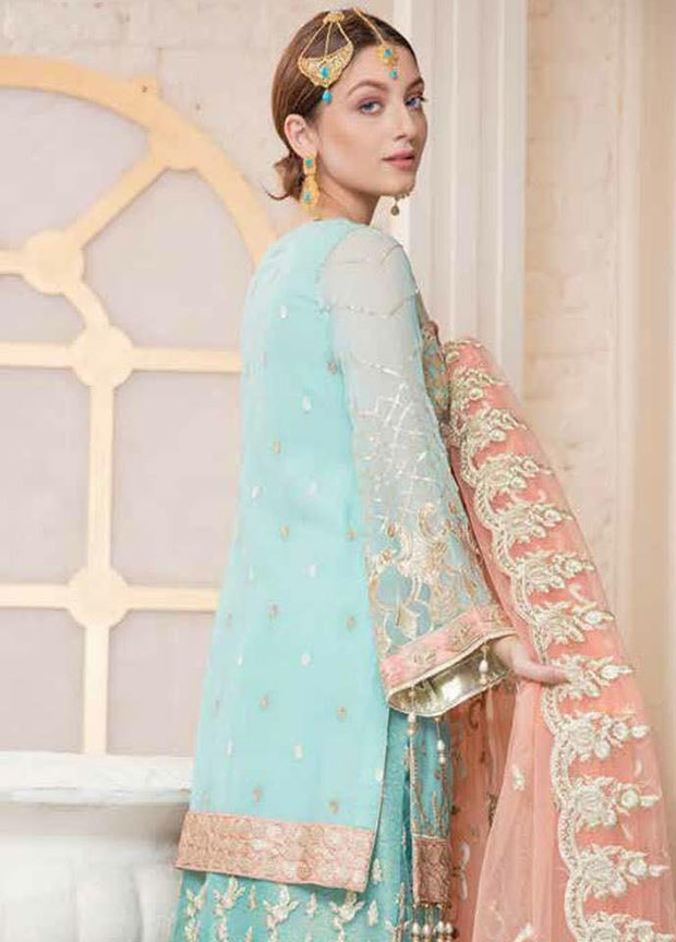 Pakistani Party Wear Dress by Maryum N Maira Model#C 1524