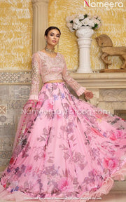 Block Print Lehenga for Wedding Party Wear online