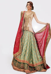 Bridal Jamawar Lehnga for Wedding