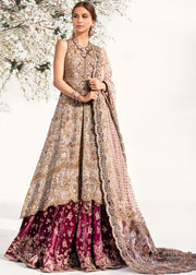 Bridal Long Frock with Lehnga