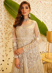 Bridal Maxi Dress Pakistani for Wedding 2021 Neckline Embroidery
