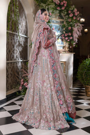 Bridal Maxi for Walima with Embroidery