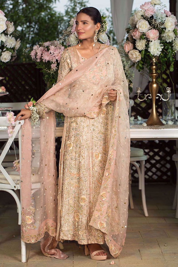 Bridal Pashwas for Wedding in Ivory Color