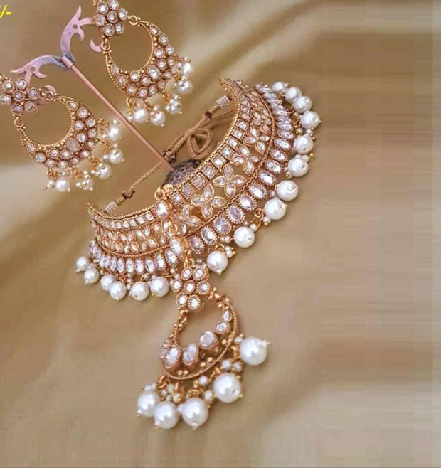 Bridal Kundan Jewellery Set