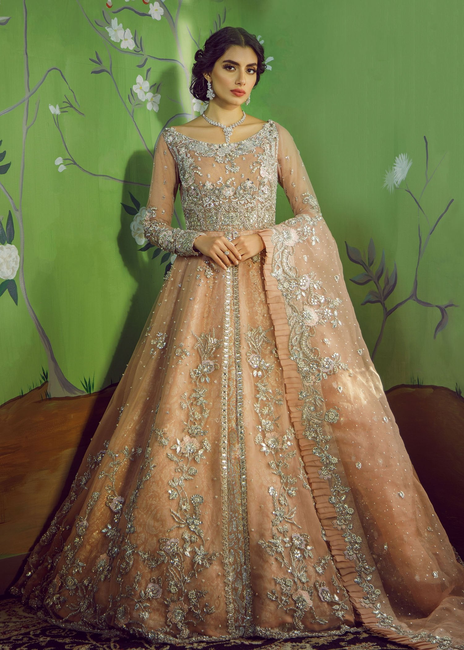 Bridal Maxi Online Buy Pakistani Bridal Maxi For Wedding Nameera