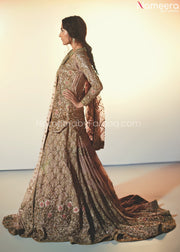 Pakistani Lehenga with Short Kurti for Bridal Online in USA