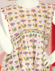 Child dress design Pakistani 2019 of frock 1
