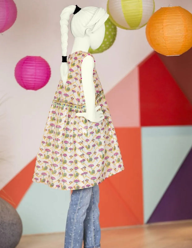 Child dress design Pakistani 2019 of frock 2