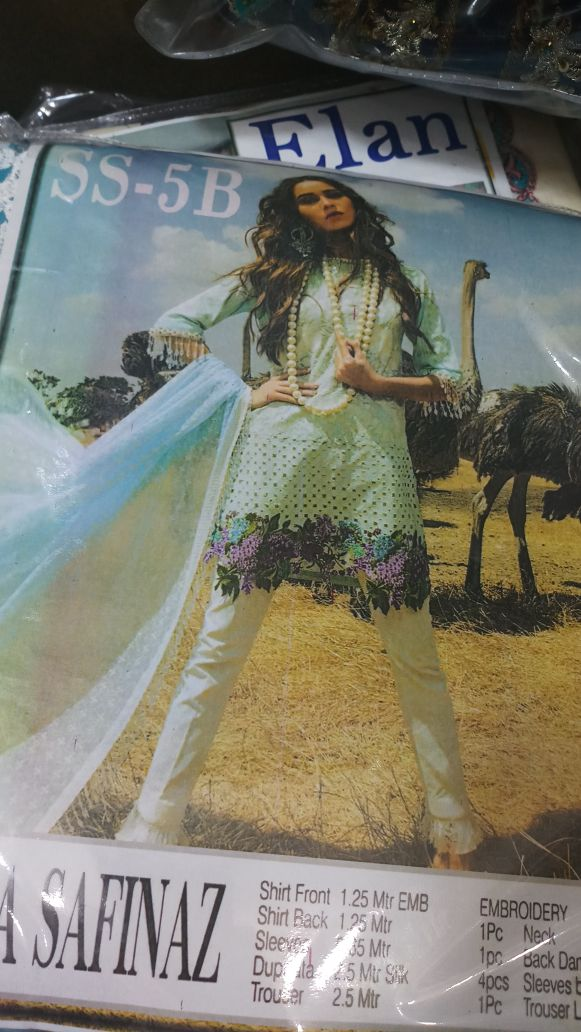 Beutifull lawn dress by sana safinaz in mint green color Model# L 1192
