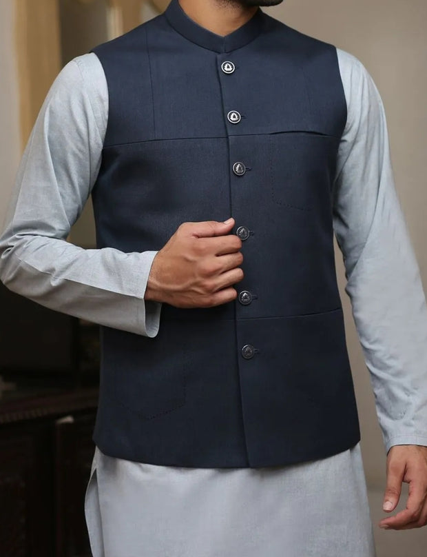 Decent waistcoat with kurta for the events 2