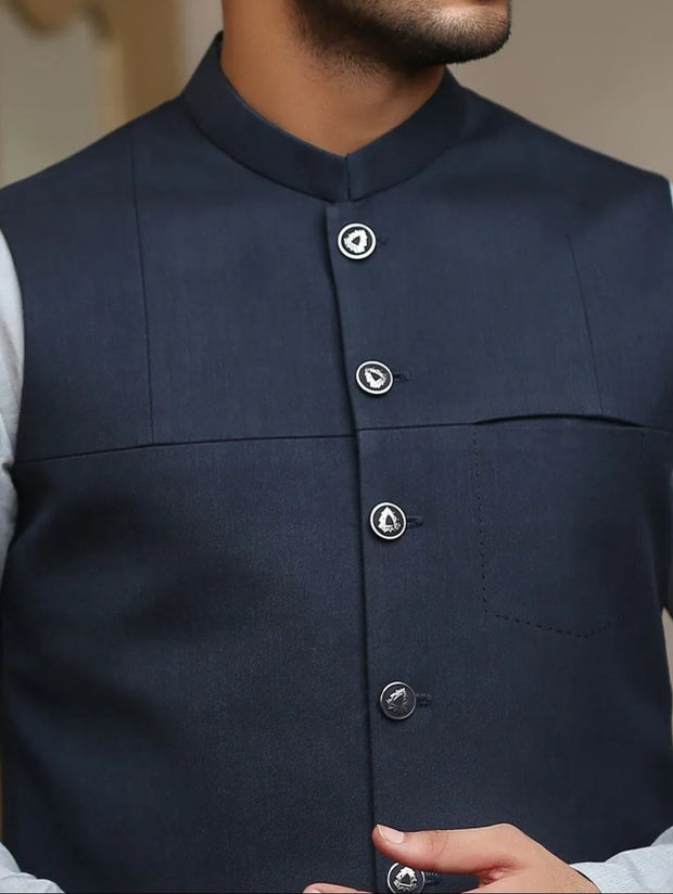 Decent waistcoat with kurta for the events 1
