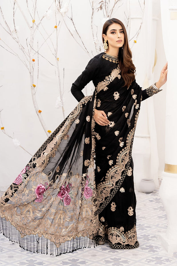 Designer Luxury Saree for Wedding Party