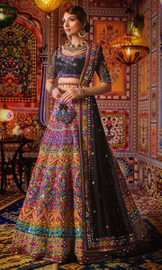 Designer Mehndi Lehnga Choli for Mehndi Clear View