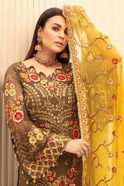 Designer Party Outfit with Embroidery #N0017