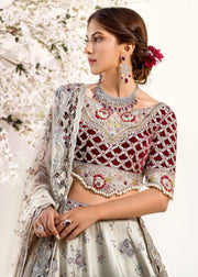 Designer Wedding Lehnga Choli with Embroidery