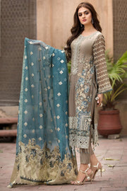 Designer Chiffon Outfit for Women